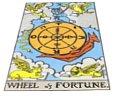 Rad des Schicksals - Rider Waite Tarot